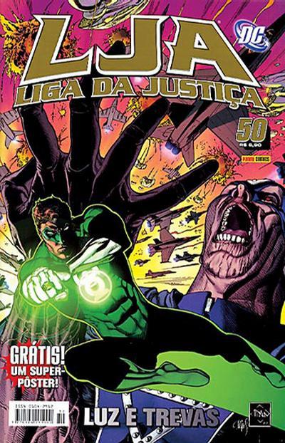 Cover for Liga da Justiça (Panini Brasil, 2002 series) #50