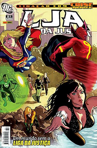 Cover for Liga da Justiça (Panini Brasil, 2002 series) #51