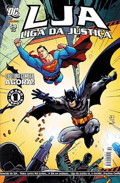 Cover for Liga da Justiça (Panini Brasil, 2002 series) #54