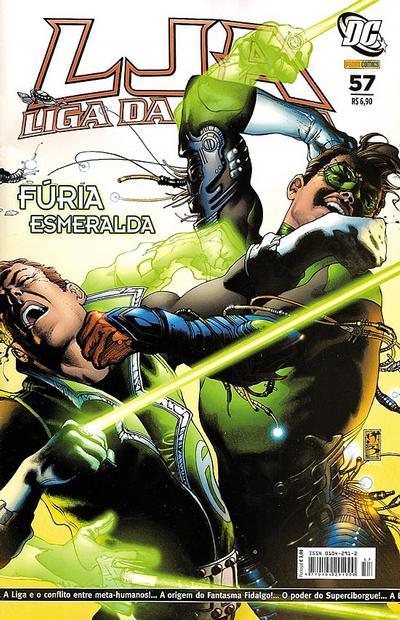 Cover for Liga da Justiça (Panini Brasil, 2002 series) #57