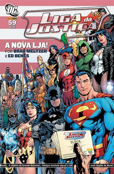 Cover for Liga da Justiça (Panini Brasil, 2002 series) #59
