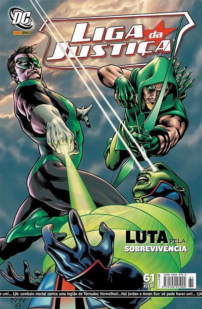 Cover for Liga da Justiça (Panini Brasil, 2002 series) #61