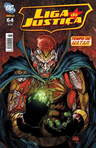 Cover for Liga da Justiça (Panini Brasil, 2002 series) #64