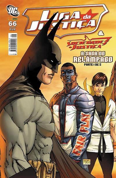 Cover for Liga da Justiça (Panini Brasil, 2002 series) #66