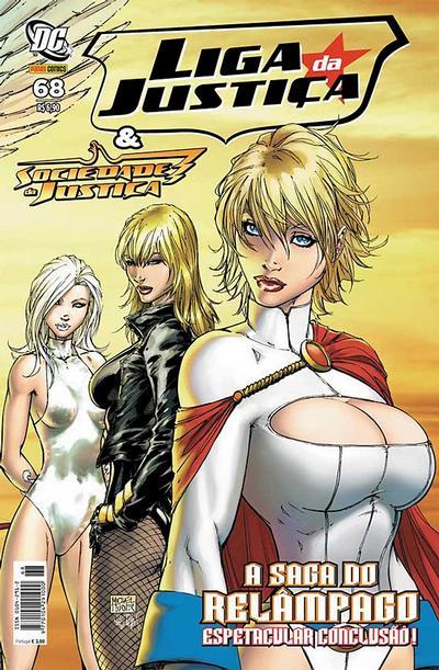 Cover for Liga da Justiça (Panini Brasil, 2002 series) #68