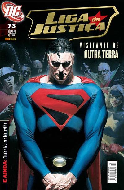 Cover for Liga da Justiça (Panini Brasil, 2002 series) #73