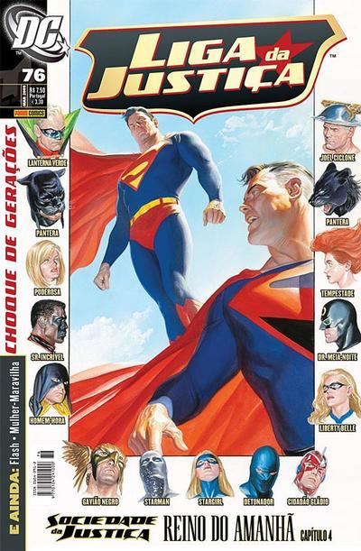 Cover for Liga da Justiça (Panini Brasil, 2002 series) #76