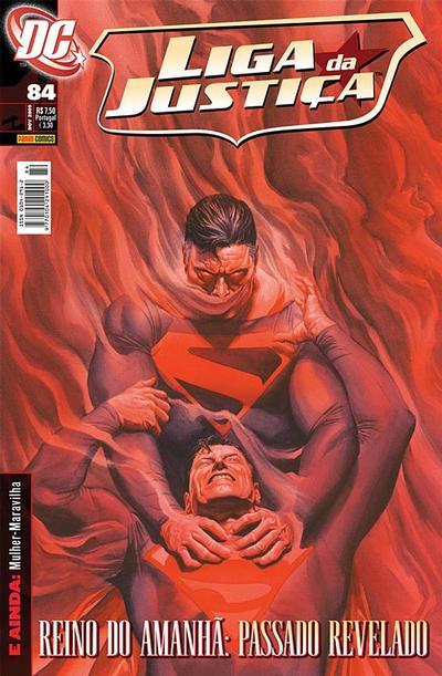 Cover for Liga da Justiça (Panini Brasil, 2002 series) #84