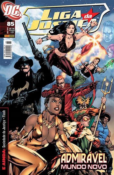 Cover for Liga da Justiça (Panini Brasil, 2002 series) #85