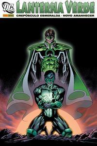 Cover Thumbnail for Lanterna Verde: Crepúsculo Esmeralda/ Novo Amanhecer (Panini Brasil, 2009 series)