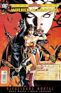 Cover Thumbnail for Mulher-Maravilha: Rivalidade Mortal (Panini Brasil, 2006 series)