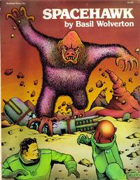 Cover for Spacehawk (Archival Press, 1978 series)
