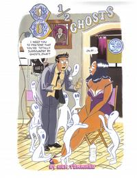 Cover Thumbnail for 8 1/2  Ghosts (Alternative Comics, 2004 series)