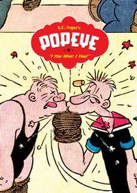 Cover Thumbnail for Popeye [E.C. Segar's Popeye] (Fantagraphics, 2006 series) #[1] - I Yam What I Yam!