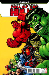 Cover Thumbnail for Fall of the Hulks: Gamma (Marvel, 2010 series) #1