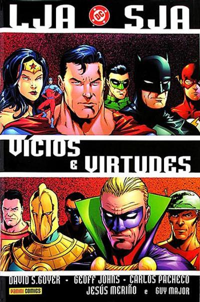 Cover for LJA/SJA: Vícios e Virtudes (Panini Brasil, 2003 series)