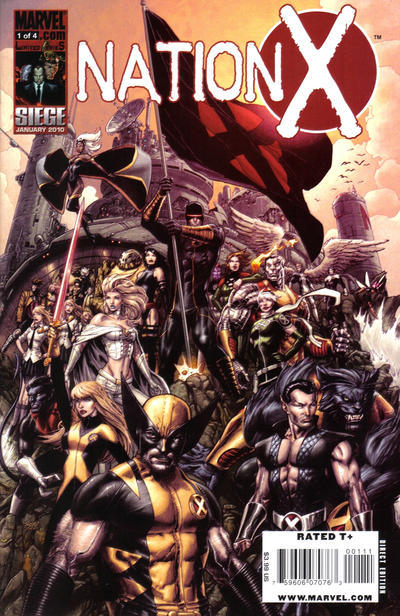 Cover for Nation X (Marvel, 2010 series) #1