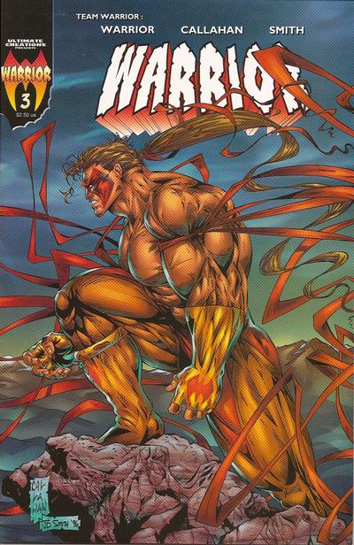 Cover for Warrior (Ultimate Creations, 1996 series) #3