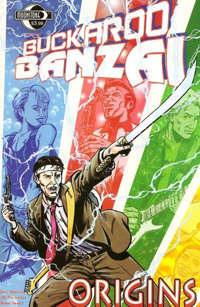 Cover for Buckaroo Banzai: Origins (Moonstone, 2009 series) #[nn] [Cover A]