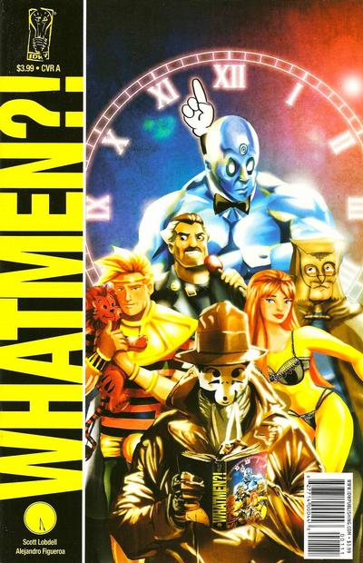 Cover for Whatmen (IDW, 2009 series)  [Cover A]