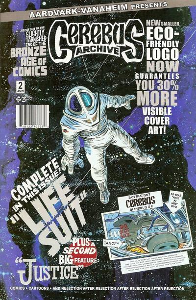 Cover for Cerebus Archive (Aardvark-Vanaheim, 2009 series) #2