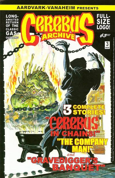 Cover for Cerebus Archive (Aardvark-Vanaheim, 2009 series) #3