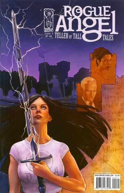 Cover for Rogue Angel: Teller of Tall Tales (IDW, 2008 series) #2