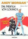 Cover for Andy Morgan (Carlsen Comics [DE], 1986 series) #1 - Die Piraten von Lokanga