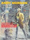 Cover for Andy Morgan (Carlsen Comics [DE], 1986 series) #4 - Abenteuer in Manhattan