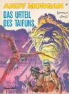 Cover for Andy Morgan (Carlsen Comics [DE], 1986 series) #6 - Das Urteil des Taifuns
