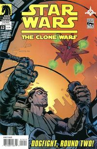 Cover Thumbnail for Star Wars The Clone Wars (Dark Horse, 2008 series) #12