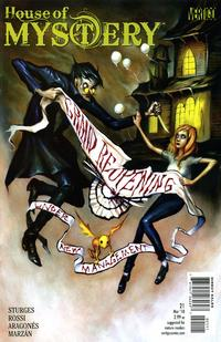 Cover Thumbnail for House of Mystery (DC, 2008 series) #21