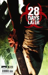 Cover for 28 Days Later (Boom! Studios, 2009 series) #5 [Cover A]