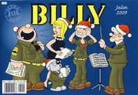 Cover for Billy julehefte (Hjemmet / Egmont, 1970 series) #2009 [Bokhandelutgave]