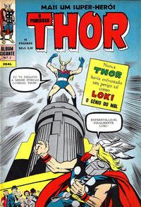 Cover Thumbnail for Álbum Gigante (4ª Série) [O Poderoso Thor] (Editora Brasil-América [EBAL], 1967 series) #2