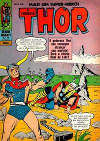Cover Thumbnail for Álbum Gigante (4ª Série) [O Poderoso Thor] (Editora Brasil-América [EBAL], 1967 series) #10