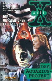 Cover Thumbnail for Akte X (Carlsen Comics [DE], 1996 series) #4