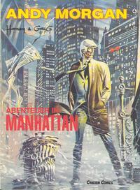 Cover Thumbnail for Andy Morgan (Carlsen Comics [DE], 1986 series) #4 - Abenteuer in Manhattan