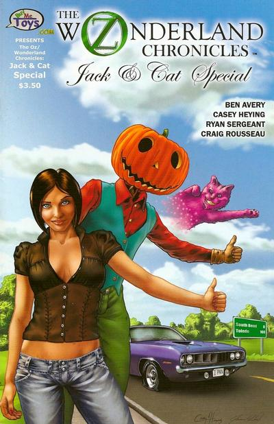 Cover for The Oz/Wonderland Chronicles: Jack & Cat Special (BuyMeToys.com, 2008 series)