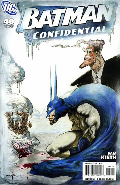 Cover for Batman Confidential (DC, 2007 series) #40