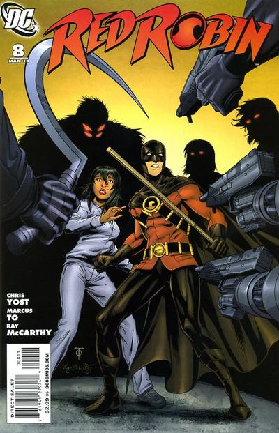 Cover for Red Robin (DC, 2009 series) #8