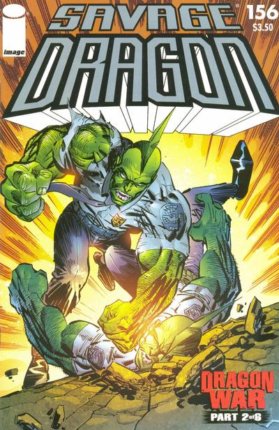 Cover for Savage Dragon (Image, 1993 series) #156