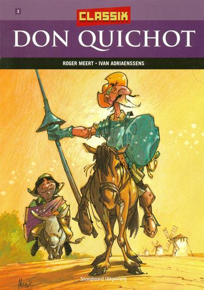 Cover for Classix (Standaard Uitgeverij, 2005 series) #3 - Don Quichot