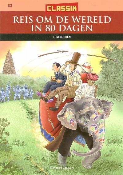 Cover for Classix (Standaard Uitgeverij, 2005 series) #5 - Reis om de wereld in 80 dagen