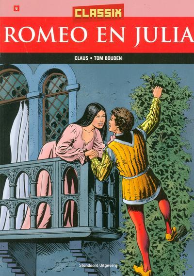 Cover for Classix (Standaard Uitgeverij, 2005 series) #6 - Romeo en Julia