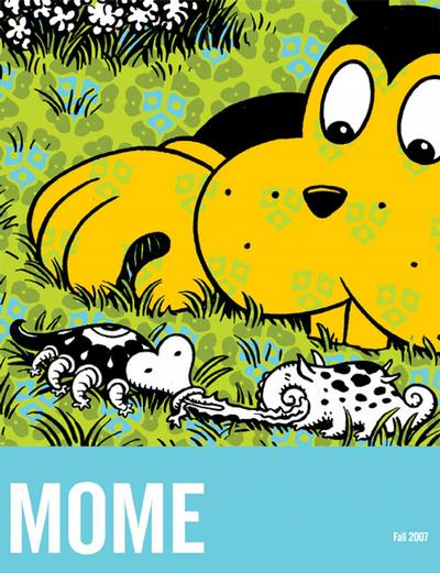 Cover for Mome (Fantagraphics, 2005 series) #9