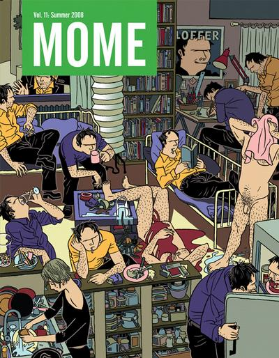 Cover for Mome (Fantagraphics, 2005 series) #11