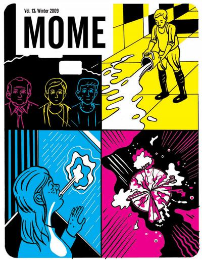 Cover for Mome (Fantagraphics, 2005 series) #13