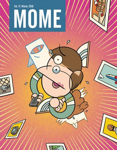 Cover for Mome (Fantagraphics, 2005 series) #17