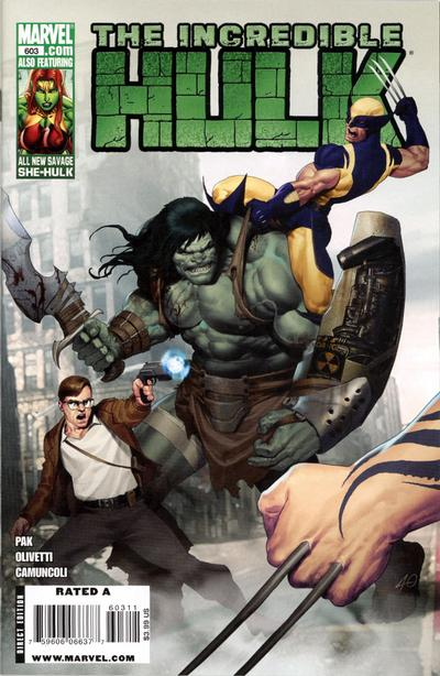 Cover for Incredible Hulk (Marvel, 2009 series) #603 [Super Hero Squad Variant Edition]